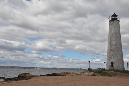 Five Mile Lighthouse in New Haven, Connecticut