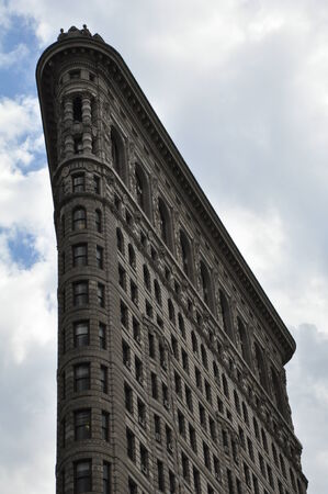 broadway tower: Flatiron Building in New York City Editorial
