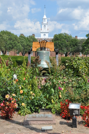 dover: Delaware State Capitol and Liberty Bell in Dover
