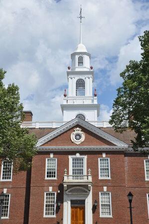 dover: Delaware State Capitol in Dover