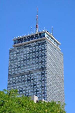 prudential: Prudential Tower in Boston Editorial