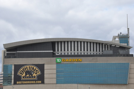 TD Garden Stadium in Boston