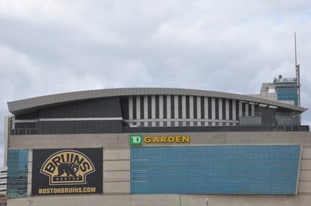 td: TD Garden Stadium in Boston
