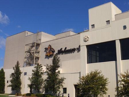 caballo bebe: Anheuser-Busch brewery in Merrimack, New Hampshire, the easternmost and one of their smallest plants in the United States