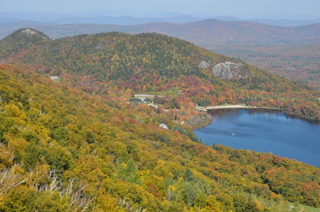 echo: Echo Lake in White Mountain National Forest, New Hampshire