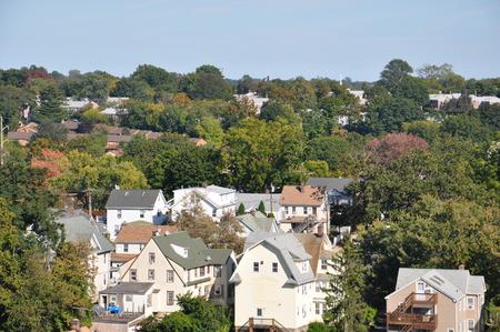 Uitzicht op Stamford, Connecticut