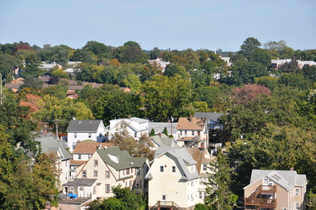 View of Stamford, Connecticut