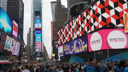 time's: Times Square in Manhattan, New York