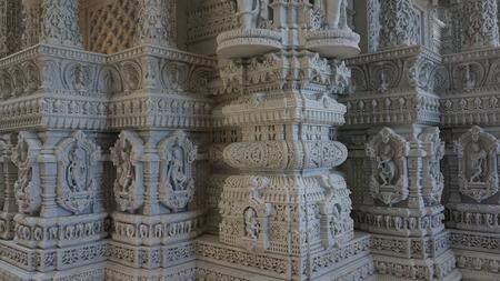 gujarat: The Akshardham temple in Robbinsville, New Jersey Stock Photo