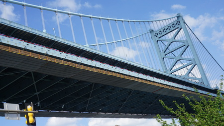 ben franklin: Benjamin Franklin Bridge in Philadelphia, USA