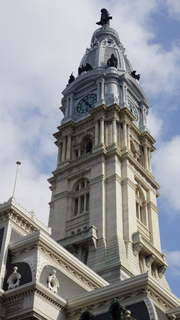 william penn: City Hall in Philadelphia, USA