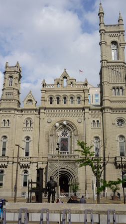 masonic: Masonic Temple in Philadelphia, USA Stock Photo
