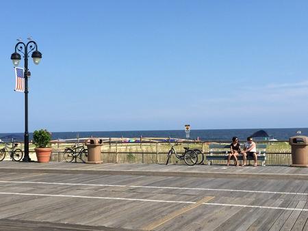 summer pudding: Ocean City Boardwalk in New Jersey