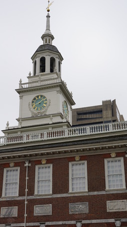 founding fathers: Independence Hall in Philadelphia, Pennsylvania Editorial