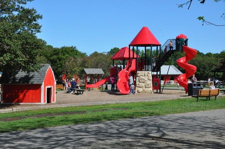 Playground at the Bluebird Gap Farm in Hampton, Virginia