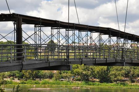 belle: Belle Isle Pedestrian Bridge in Richmond, Virginia