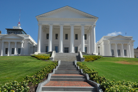 downtown capitol: Virginia State Capitol in Richmond, Virginia Editorial