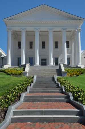 thomas stone: Virginia State Capitol in Richmond, Virginia Editorial
