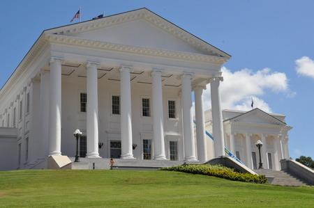 Virginia State Capitol in Richmond, Virginia Redakční