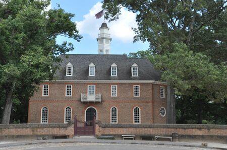 The Capitol at Williamsburg, Virginia Imagens