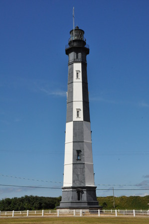 henry: The new Cape Henry lighthouse at Fort Story in Virginia Beach, Virginia Stock Photo