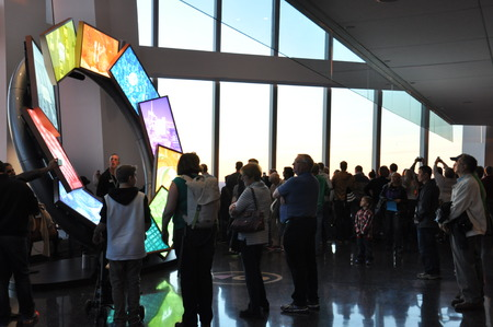 world trade center: Presentation at One World Trade Center in New York