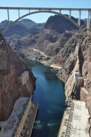 hoover dam: Hoover Dam in Nevada