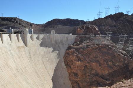 hoover dam: Hoover Dam in Nevada