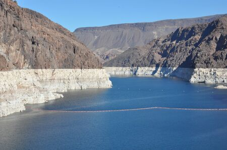 hoover: Lake Mead at Hoover Dam in Nevada