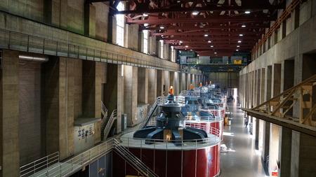 powerplant: Powerplant at Hoover Dam in Nevada
