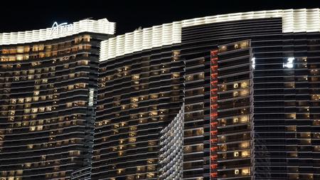 tourist attraction: The Aria Resort and Casino in Las Vegas