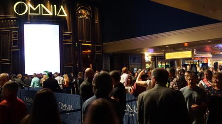 Omnia Nightclub at Caesars Palace Hotel and Casino in Las Vegas Editöryel