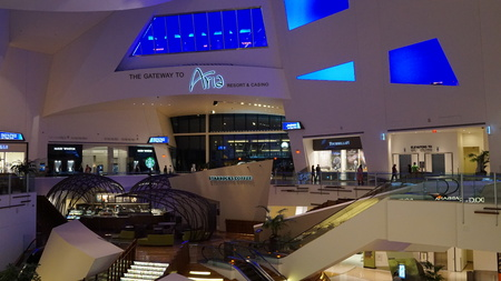 The Crystals Mall at CityCenter in Las Vegas