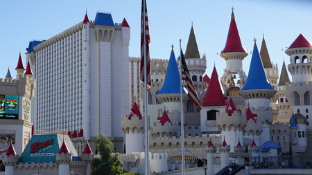 Excalibur Hotel and Casino in Las Vegas Editorial