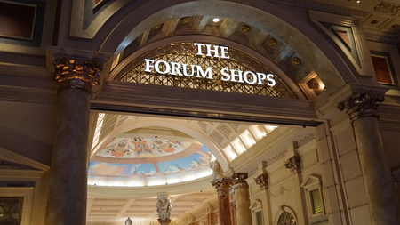 Forum Shops at Caesar's Palace in Las Vegas Imagens - 51477205