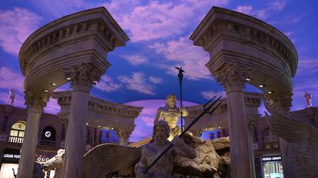 caesars palace: Forum Shops at Caesars Palace in Las Vegas
