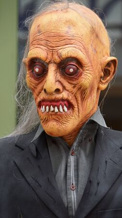 halloween scary: Scary Face Halloween Stock Photo
