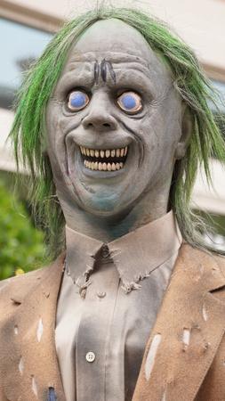 Scary Face Halloween Stok Fotoğraf - 51358262