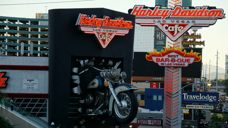 harley davidson: Harley Davidson cafe in Las Vegas
