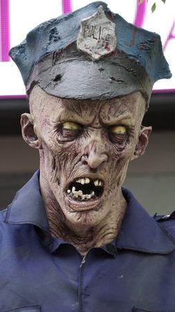 Scary Face Halloween Stok Fotoğraf - 51358176