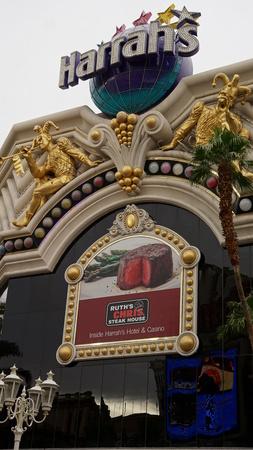 hotel and casino: Harrahs Hotel  Casino in Las Vegas