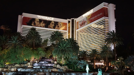 hotel and casino: Mirage Hotel  Casino in Las Vegas, Nevada Editorial