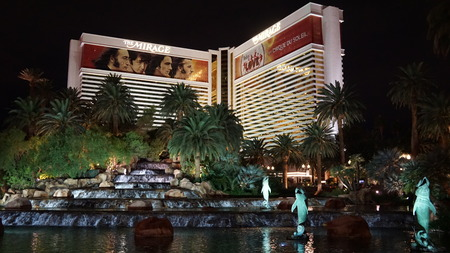 a mirage: Mirage Hotel  Casino in Las Vegas, Nevada Editorial