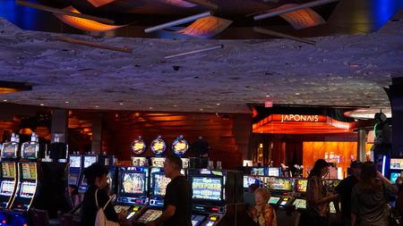 Mirage Hotel  Casino in Las Vegas, Nevada Editorial