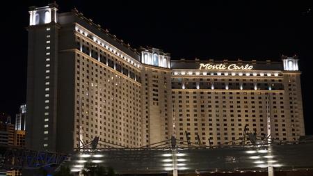 hotel and casino: Monte Carlo Hotel  Casino in Las Vegas, Nevada