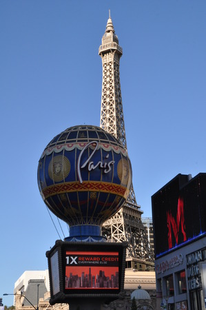 hotel and casino: Paris Hotel  Casino in Las Vegas