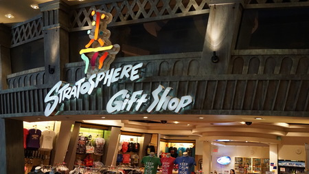 stratosphere: Stratosphere Hotel and Casino in Las Vegas Editorial