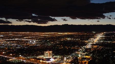 Luftaufnahme von Las Vegas in Nevada