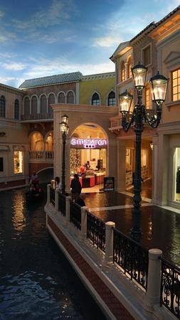 hotel and casino: The Venetian Resort Hotel Casino in Las Vegas Nevada Editorial