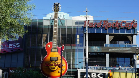 nevada: Las Vegas Strip in Nevada Editorial